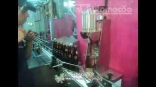 261 - Tampador Garrafa de Cerveja Maquina de colocar tampinhas em garrafas de cerveja