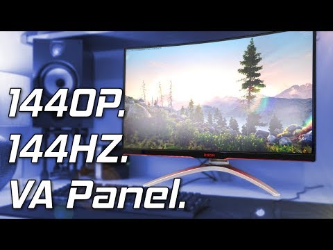 AOC AGON AG322QCX Review - The 32 Inch 144Hz 1440p Monitor