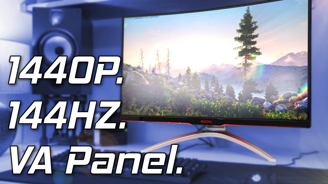 AOC AGON AG322QCX Review - The 32 Inch 144Hz 1440p Monitor!