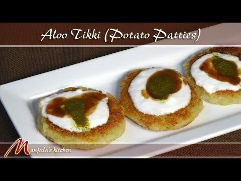 Aloo Tikki - Potato Patties Recipe by Manjula