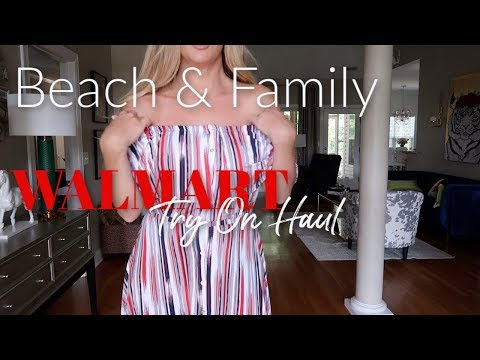 Walmart Try On Haul~ Beach and Family thumbnail