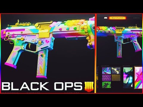 How to Get the NEW UNICORN CAMO in Black Ops 4! (Black Ops 4 Tactical Unicorn Camo)