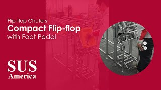 Compact Flip-Flop with Foot Pedal
