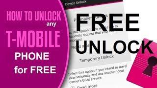 Unlock T-mobile - How To Unlock T-mobile Using Device Unlock App