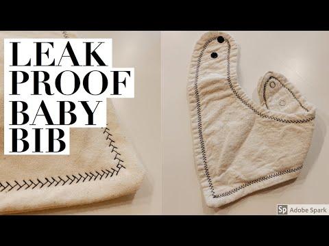 DIY Leak-Proof Baby Bib - YouTube