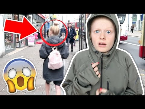 I WORE MY DADS CLOTHES FOR A DAY *in public*