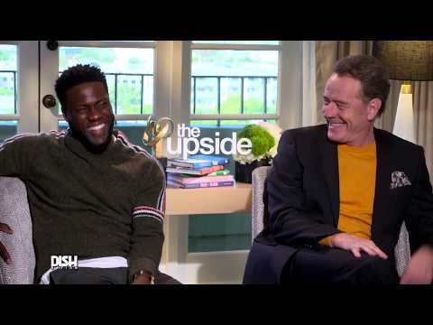 KEVIN HART and BRYAN CRANSTON Interview: The Upside