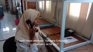 Handling telephone massage