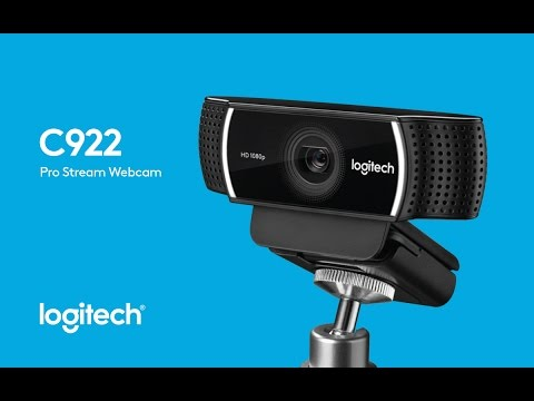 a2ad37ce2f7 Logitech's C922 Webcam Personify Set Up - YouTube
