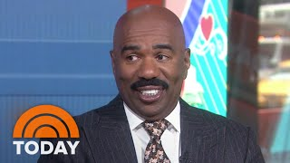 Steve Harvey Delivers Dates To Women's Door For Valentines Day | TODAY