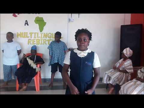 ISA - Africa, A Multilingual Rebirth  Activity 1 Sub Activity 3 by Riverside Montessori School