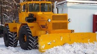 Трактора К700  К701,Балтиец Der schwerste serielle Sowjet Traktor K700  K701