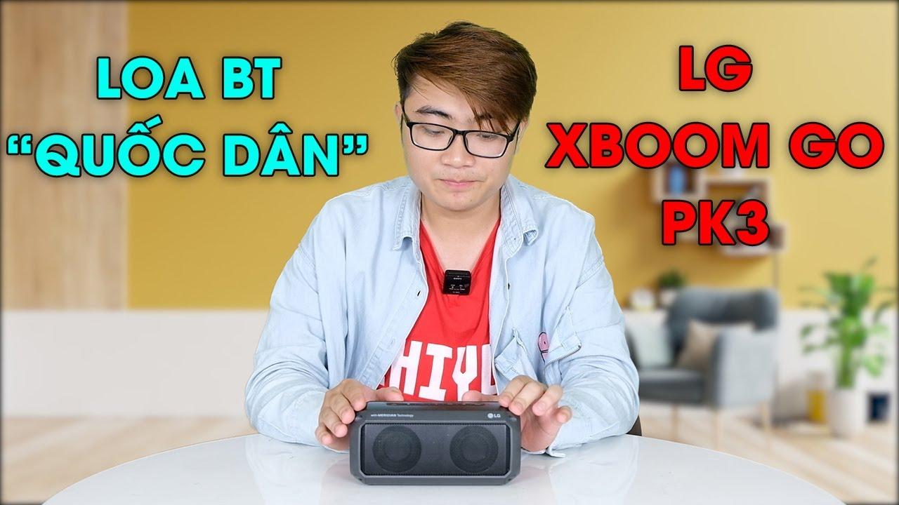 """Download Đánh giá loa Bluetooth """"quốc dân"""" LG XBOOM GO PK3: Quá ngon trong tầm giá hơn 600K"""