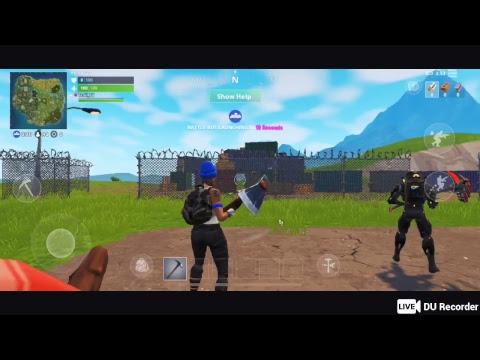 Fortnite Mobile For iOS - 07/01/2018 Mobile Stream #6, add me: murdoc211, Mobile only
