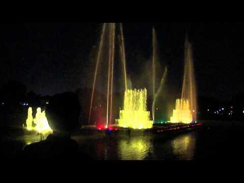 Musical fountain Jaipur India