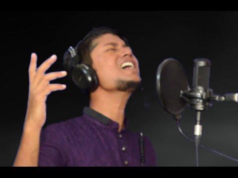 Bangla songs , Megh thom thom kore covered by swpon