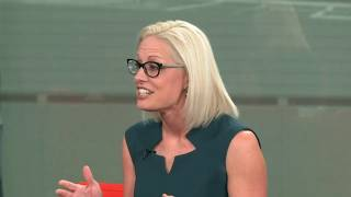 What are Kyrsten Sinema's plans for the U.S. Senate?