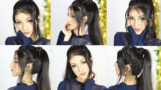 Download lagu New Easy Ponytail Hairstyle For Party or Wedding Long Ponytail Hairstyles MP3