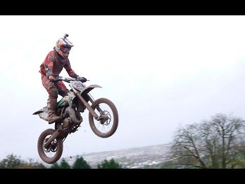 Helmet Cam: Jack Daly KTM 85cc 2 stroke RAW 2013 Vernon Mount MX
