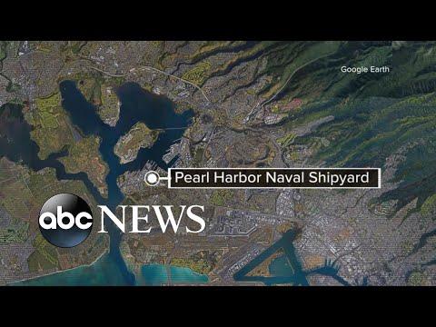 Shooting at Pearl Harbor Naval Shipyard