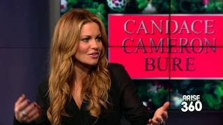 """Candace Cameron Bure on her knew film """"Christmas Under Wraps!"""""""