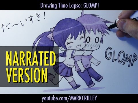 "how-to-draw-a-chibi-hug-:-""glomp!""-[narrated-step-by-step]"