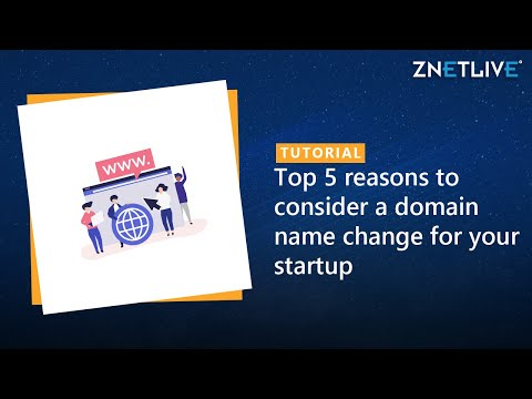 Top 5 reasons to consider a domain name change for your startup