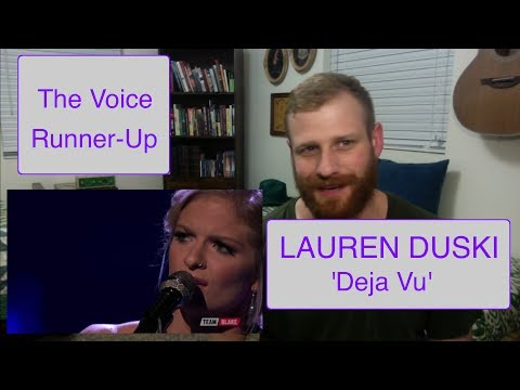 Lauren Duski - Deja Vu | Reaction