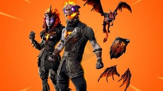 🔴Again with the🔥 *NEW LAVA PACK*🔥 (WAR AND VALQUIRIA DOG) FORTNITE🔴