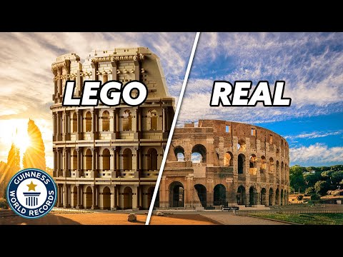 Largest EVER LEGO set - Guinness World Records