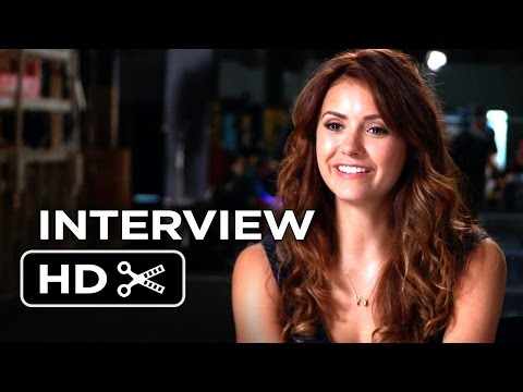 Let's Be Cops Interview - Nina Dobrev  (2014) - Damon Wayans Action Comedy HD