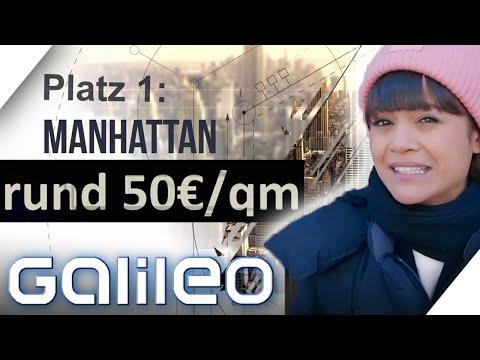 New York: Wie lebt es sich in einer der teuersten Städte der Welt? | Galileo | ProSieben