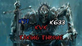 Clash of Kings K97 KvK K633 Taking there Thorne 👑