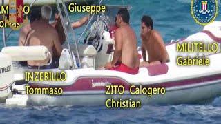 Blitz anti-mafia Palermo-New York: la riunione dei boss in gommone nel golfo di Mondello