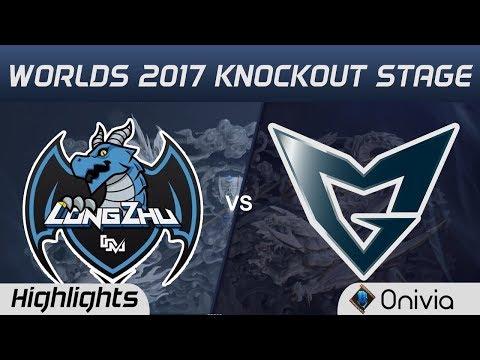 LZ vs SSG  Highlights Game 3  World Championship 2017 Knockout Stage Longzhu Gaming vs Samsung Gal