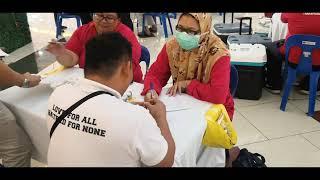 Ahmadi Muslims donate blood in Malaysia