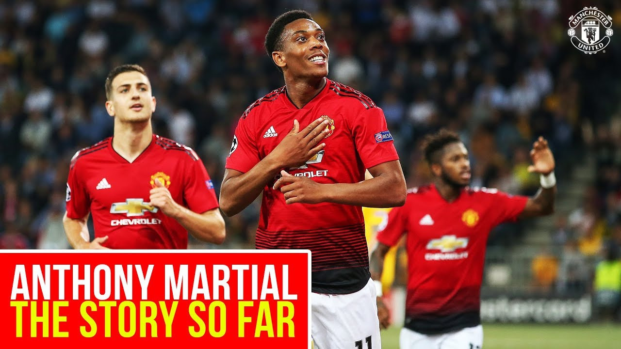 Anthony Martial to sign new long-term Manchester United deal