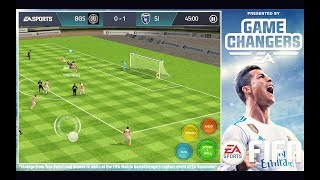 FIFA MOBILE 18 *FIRST LOOK* Gameplay!!! (ft. Tips, Tricks & New Controls) | FIFA Mobile Season 2