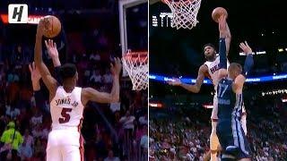 Derrick Jones Jr. POSTERIZES Jonas Valanciunas   October 23, 2019-20 NBA Season Video
