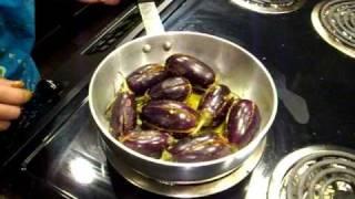 Stuffed Eggplant, Stuffed Brinjal, Bharve Baingan, Easy Eggplant Recipe