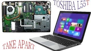 Toshiba L55t L55 TouchScreen take apart and reassemble