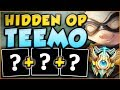 THE NEW OP TEEMO BUILD CHALLENGER PLAYERS ARE ABUSING! TEEMO SEASON 8 TOP GAMEPLAY League of Legends