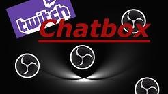 Über OBS Studio den Twitch Chat anzeigen lassen// Deutsch-German