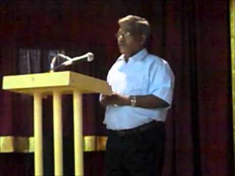 Umapathy Acharya on Indian Sacred Art Tradition, Tamil Heritage Kachcheri 2011, 25/12/2011