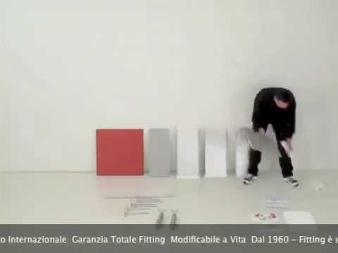 Casaitalia.it: libreria fitting piarotto pyramid modular bookcase