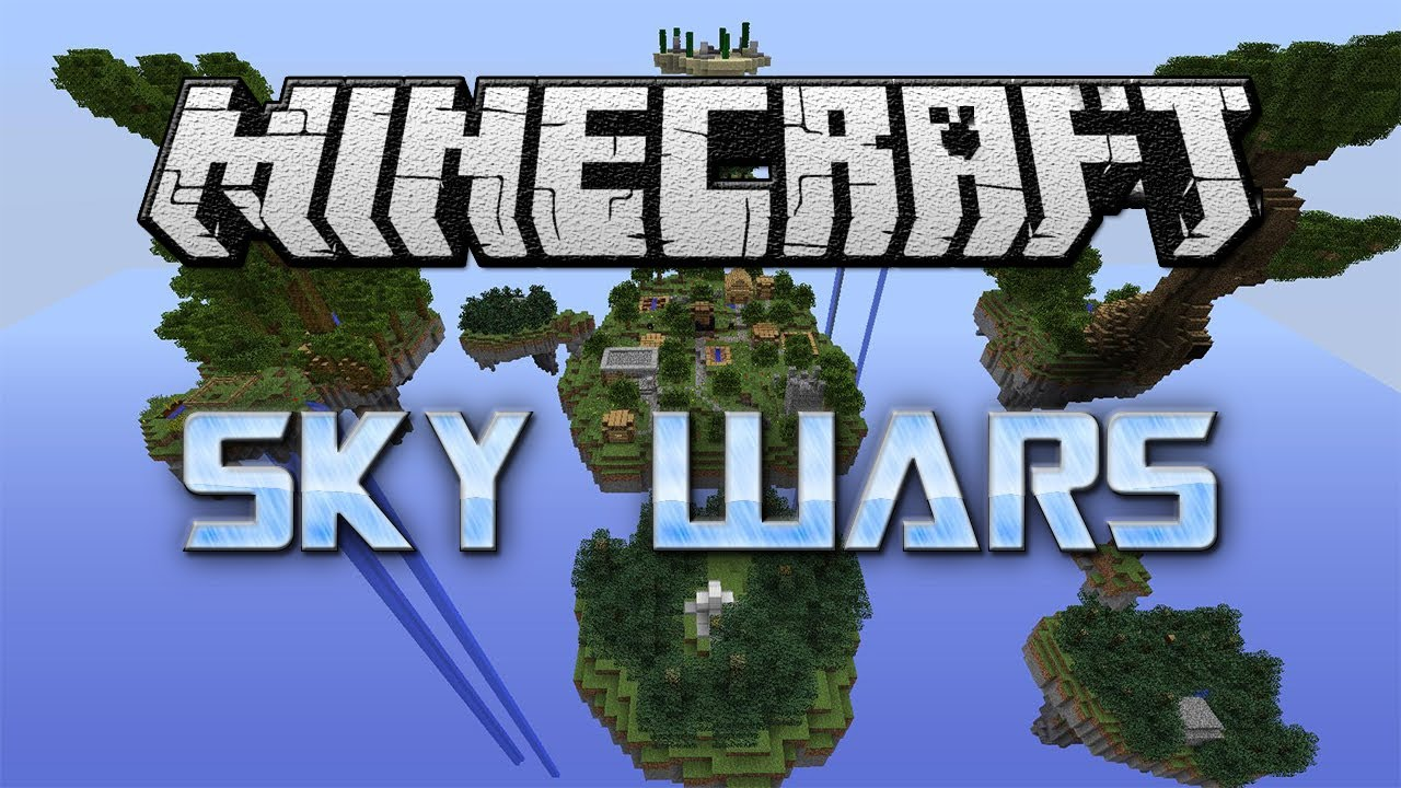 Minecraft Mini-Game #3: Sky Wars ! - YouTube