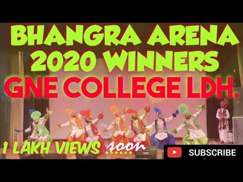 Download GNE LUDHIANA at BHANGRA ARENA 2020 || LIVE CATEGORY 1st Place ||