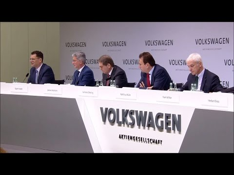 Volkswagen Group Annual Media Conference 2017 - Q&A (English)