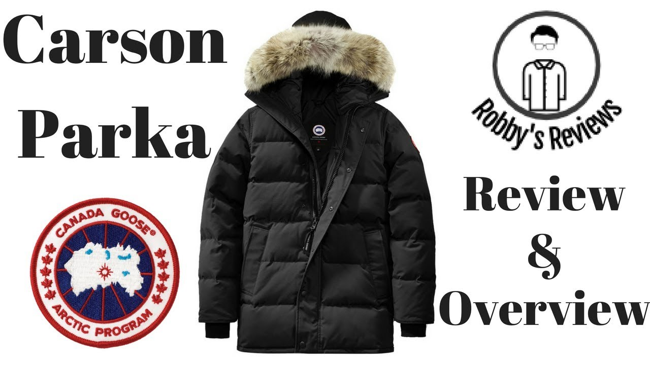 Rating and Review  Canada Goose Carson Parka - YouTube b22f99177