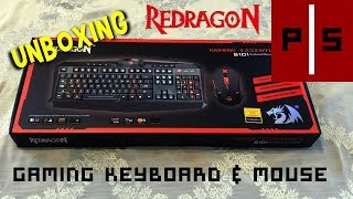 Unboxing   Redragon S101 Gaming Keyboard & Mouse   4K